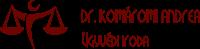 DR. KOMÁROMI ANDREA ÜGYVÉDI IRODA